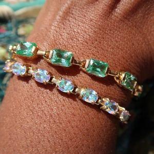 Ross Simons Sterling Gemstone Tennis Bracelet